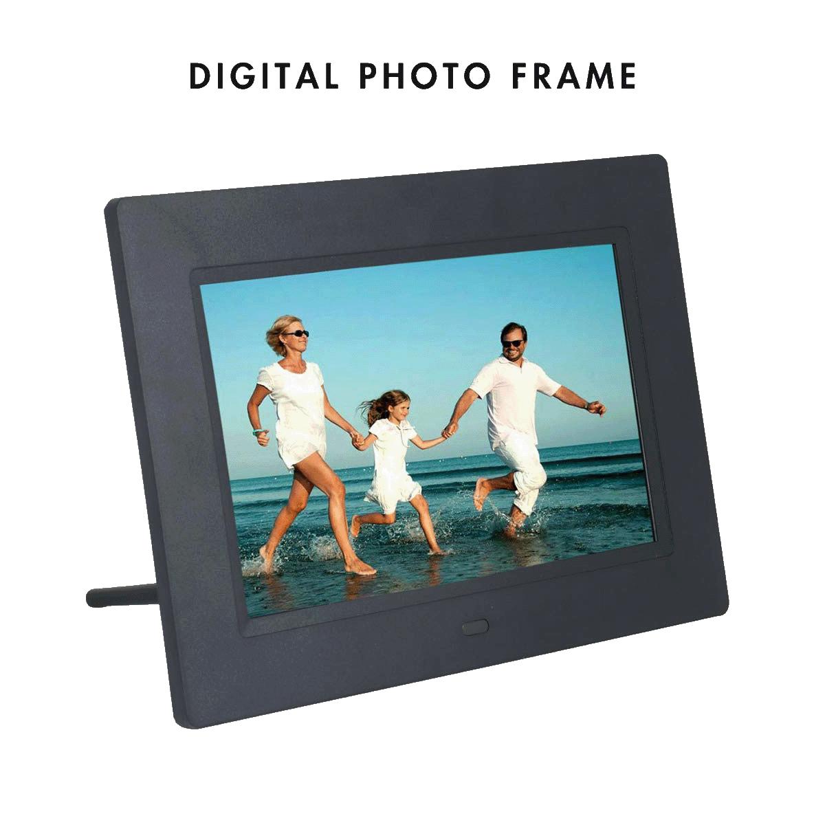 Xech 17.78 cm Digital Photo Frame (Black)_1