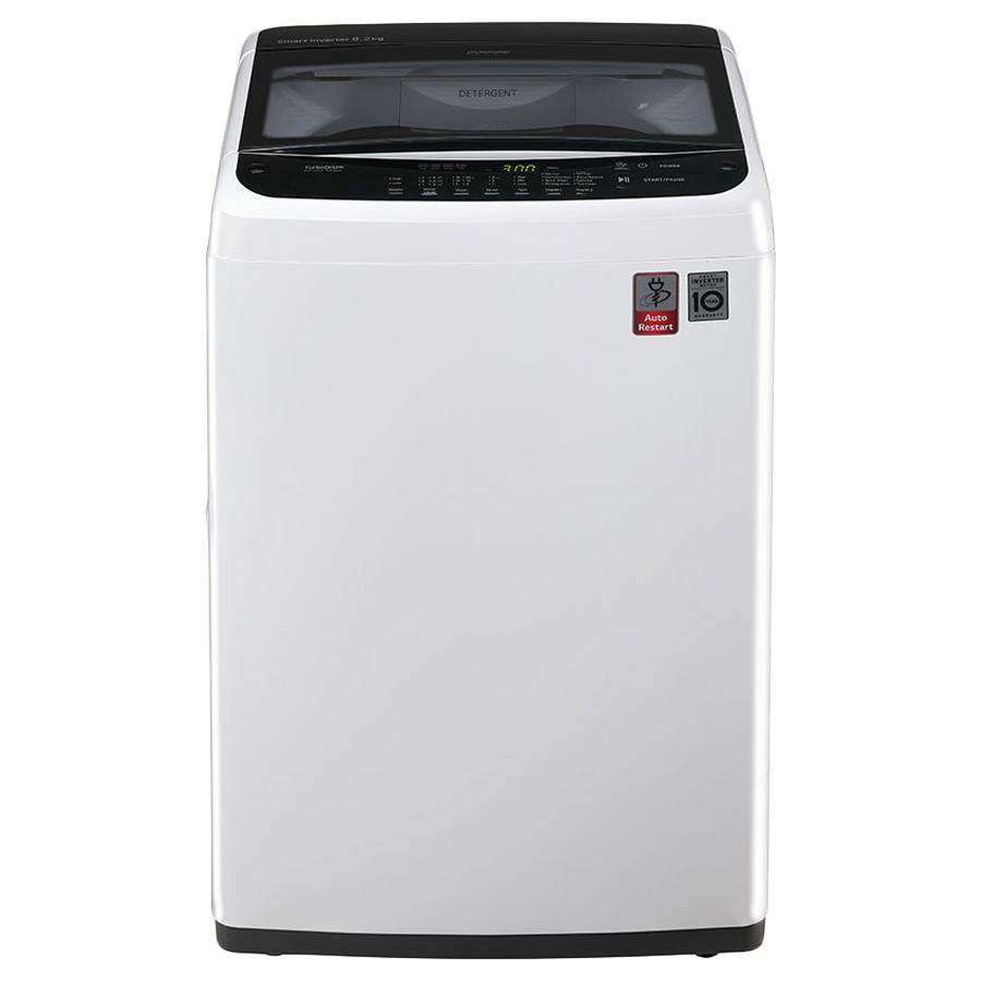 LG 6.2 kg Fully Automatic Top Loading Washing Machine (T7288NDDLA.ABWPEIL, White)_1
