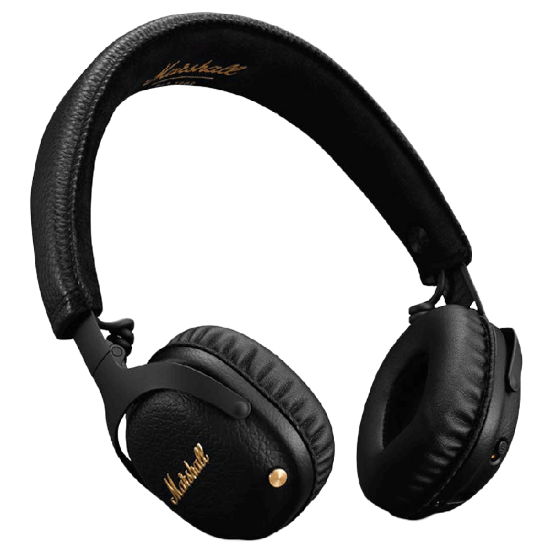 Marshall Over-Ear Active Noise Cancellation Wireless Headphone with Mic (Bluetooth, MS-MIDANCBT, Black)_1