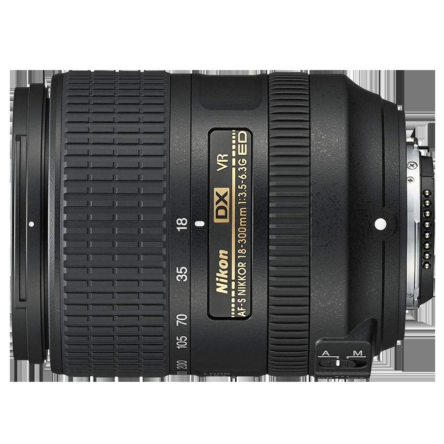 Nikon Nikkor 18-300 mm F3.5-F6.3G ED VR Lens (Black)_1