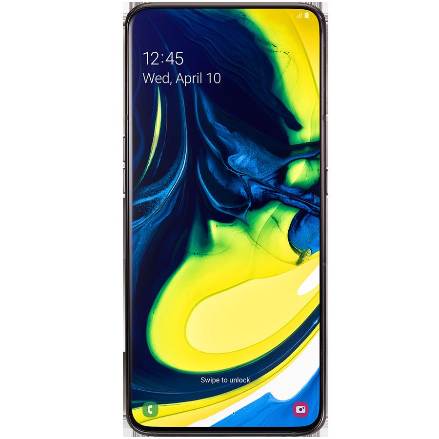 Samsung Galaxy A80 (Phantom Black, 128 GB, 8 GB RAM)_1