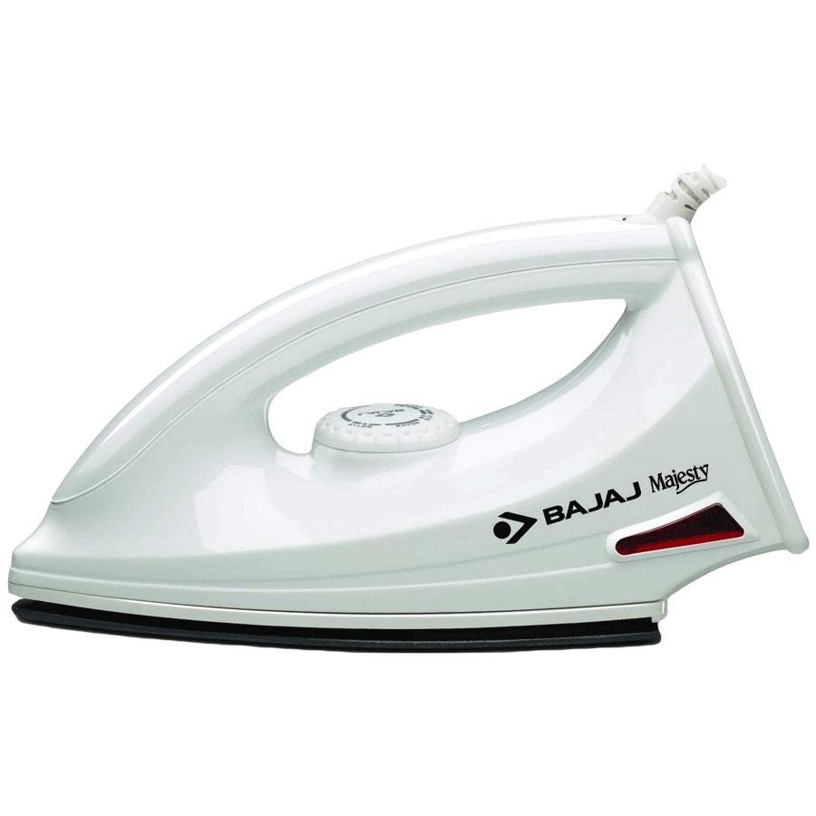 Bajaj Majesty 1000 Watt Dry Iron (MajestyDX6, White)