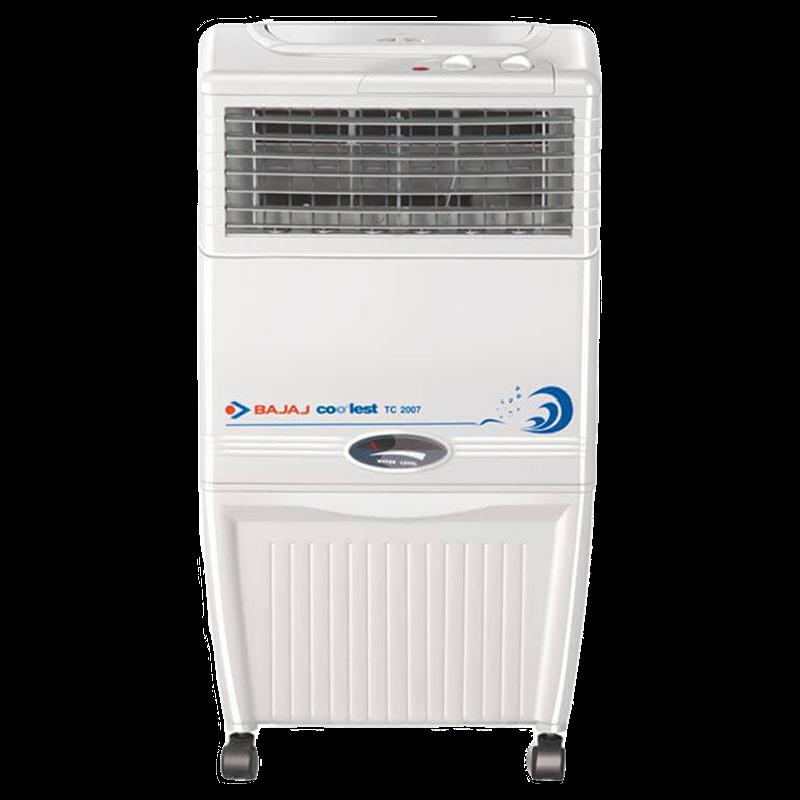 Bajaj 37 Litres Room Air Cooler (Chill Trap Technology, TC 2007, White)_1