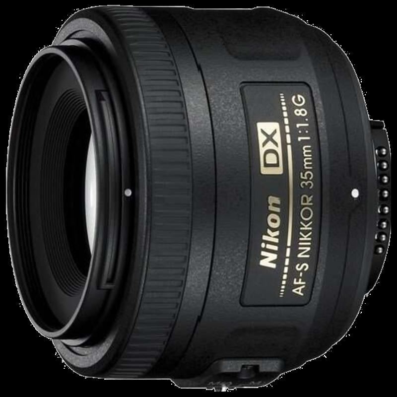 Nikon Nikkor AF-S DX 35 mm F1.8-F22 Lens (Black)_1