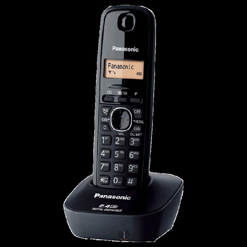 Panasonic Digital Cordless Phone (KX-TG3411SX, Black)_1