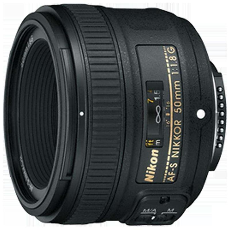 Nikon AF-S Nikkor 50 mm F1.8-F16 Lens (Black)_1