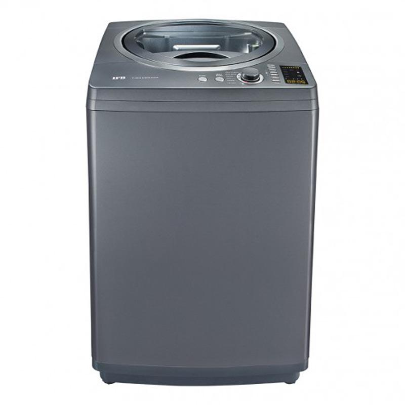 IFB 6.5kg Top Loading Fully Automatic Washing Machine (TL-RCG, Grey)_1