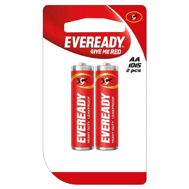 Eveready AA Heavy Duty Carbon Zinc Battery (1015MU00400, Red) (Pack of 2)_1