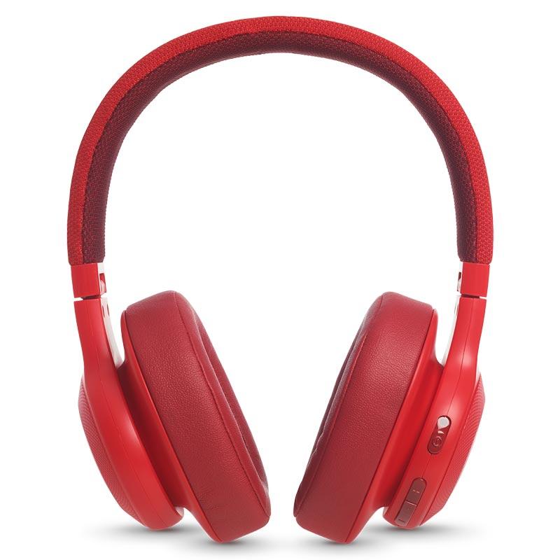 JBL Wireless Over-ear Headphones (E55BT, Red)_1