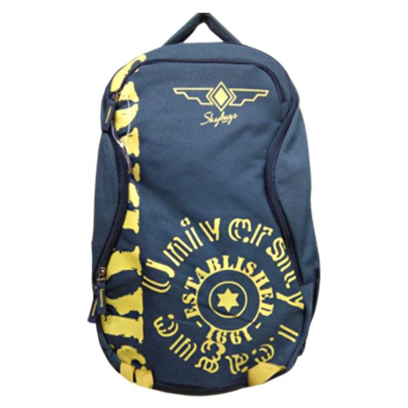 VIP Commuter Extra 03 25 Litres Laptop Backpack (BPSKA02HBLU, Grey)_1