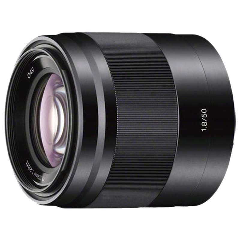 Sony 50 mm F1.8 OSS Lens (Built-in Optical Steady Shot, SEL50F18 SYX, Silver)_1