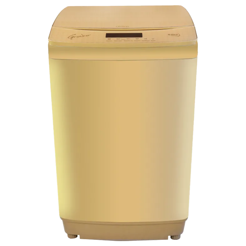 Onida 8.5kg Fully Automatic Top Loading Washing Machine (T85GRDD, Gold)_1
