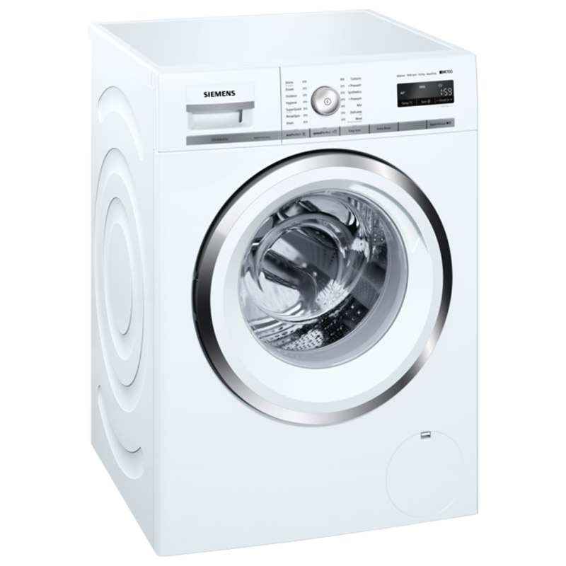 Seimens 9 kg Fully Automatic Front Loading Washing Machine (WM14W441IN, White)_1