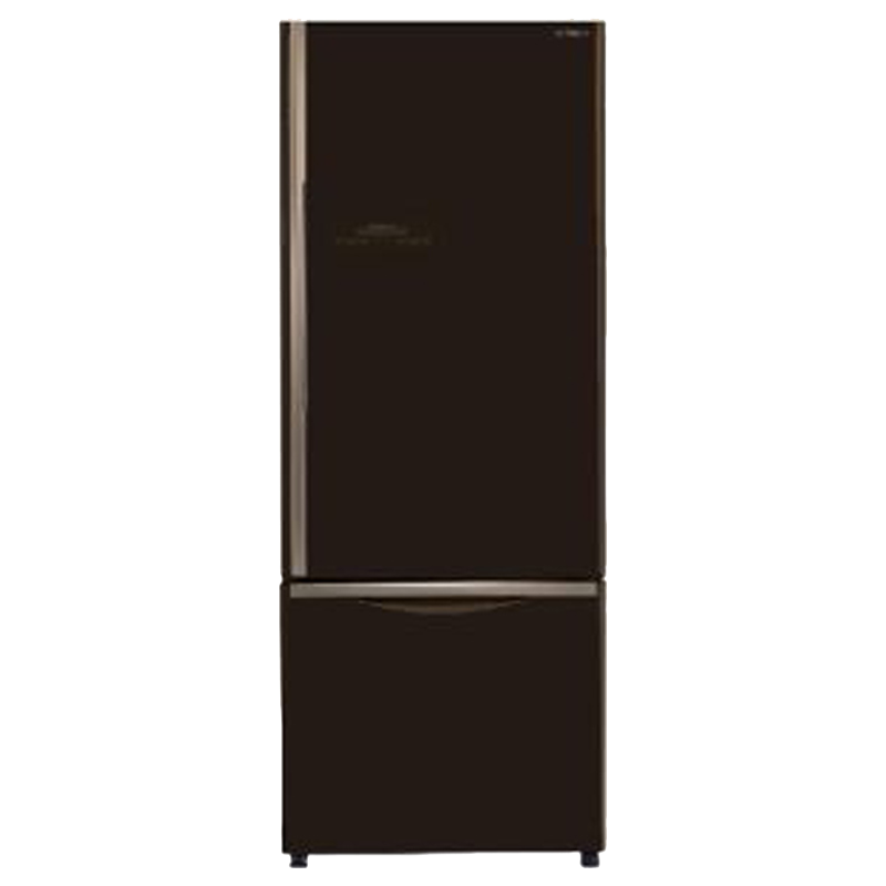 Hitachi 466 Litres 2 Star Frost Free Inverter Double Door Refrigerator (Bottom Mount, Selected Mode Compartment, R-B500PND6-GBW, Glass Brown)_1