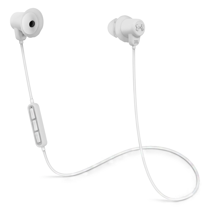 JBL Under Armour Bluetooth Earphones (White)_1