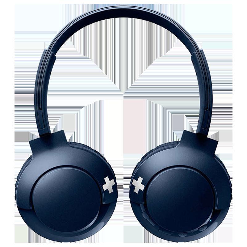 Philips SHB3075 BASS+ Bluetooth Headphone (Blue)_1