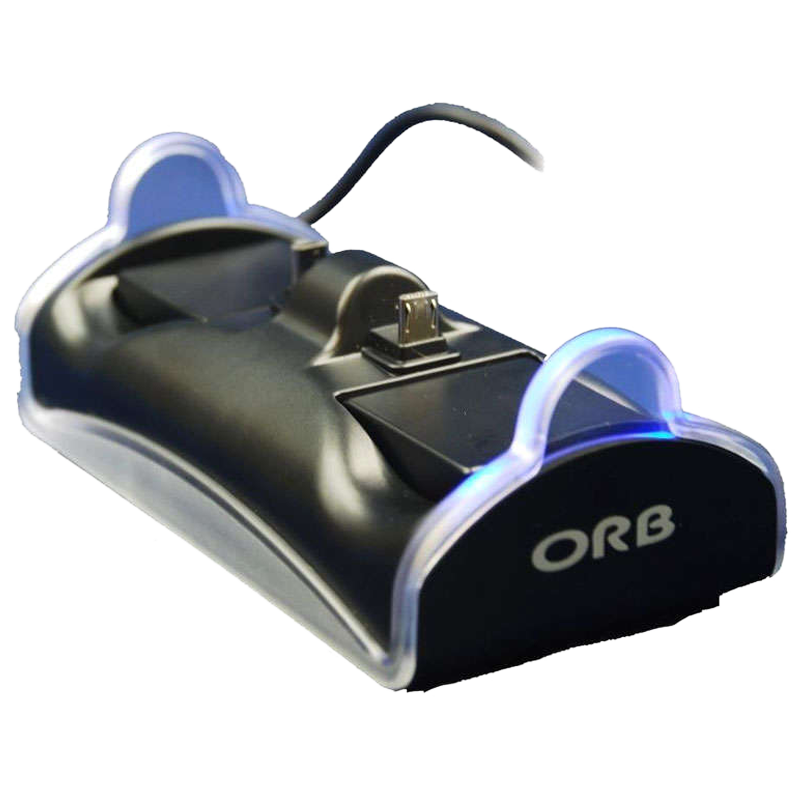 ORB Dual PS4 Controller Charge Dock (Black)_1
