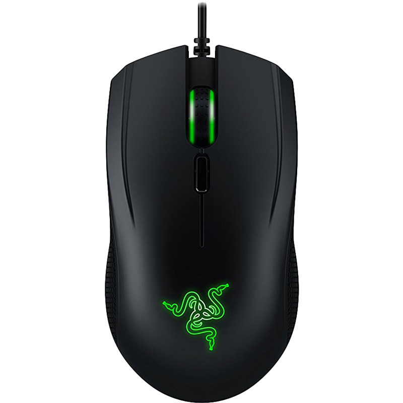 Razer Abyssus And Goliathus 2000 DPI Wired Mouse & Mouse Mat (RZ83-02020200-B3M1, Black)_1