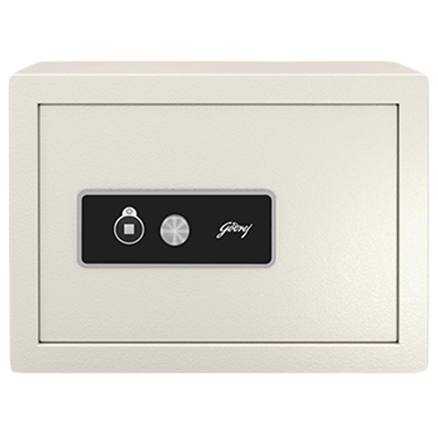 Godrej 15 Litres Safety Locker (NX Pro, Ivory)_1