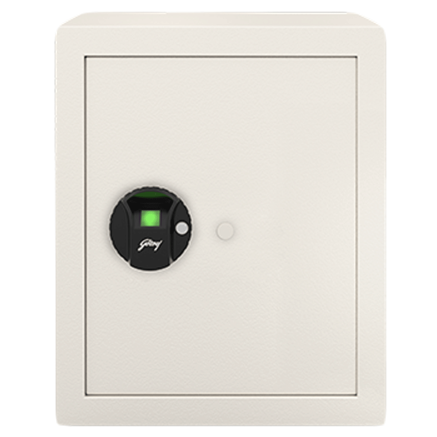 Godrej 40 Litres Safe Bio Smart Locks (NX Pro, Ivory)_1