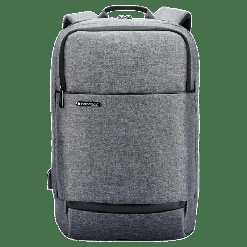 NeoPack Willman 15.4 inch Laptop Backpack (51BK15, Grey)_1
