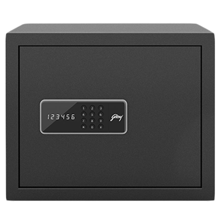Godrej 30 Litres Safe Digital Locking Systems (NX Pro, Grey)_1