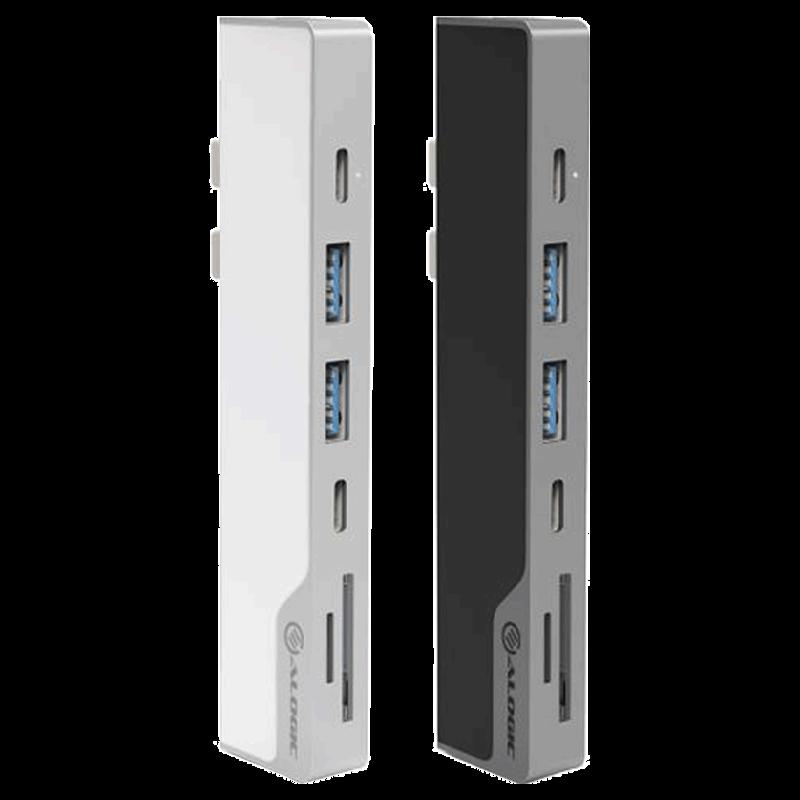 Alogic Nano MacBook HDMI USB-C USB 3.0 Dock (ULDNAG2, Space Grey)