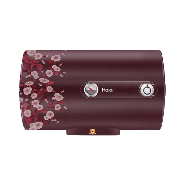 Haier 25 Litres 5 Star Storage Water Geyser (2000 Watts, ES25H, Floral Red)_1