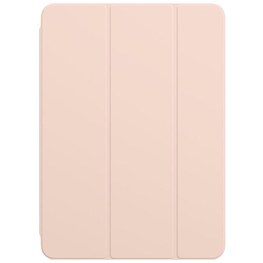 Apple Polyurethane Smart Folio Cover For 11 Inch iPad Pro (MRX92ZM/A, Pink Sand)_1