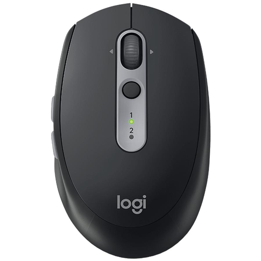 Logitech Silent 1000 DPI Bluetooth Wireless Mouse (M590, Graphite Tonal)_1