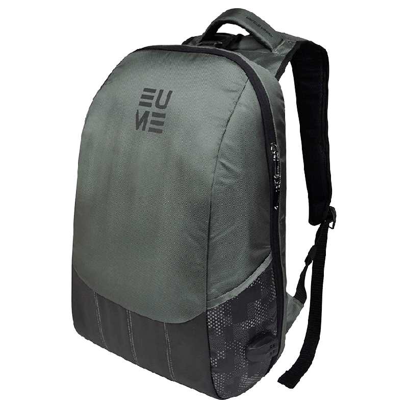 EUME Wave 26 Litres Massager Backpack for Laptop (Grey)_1