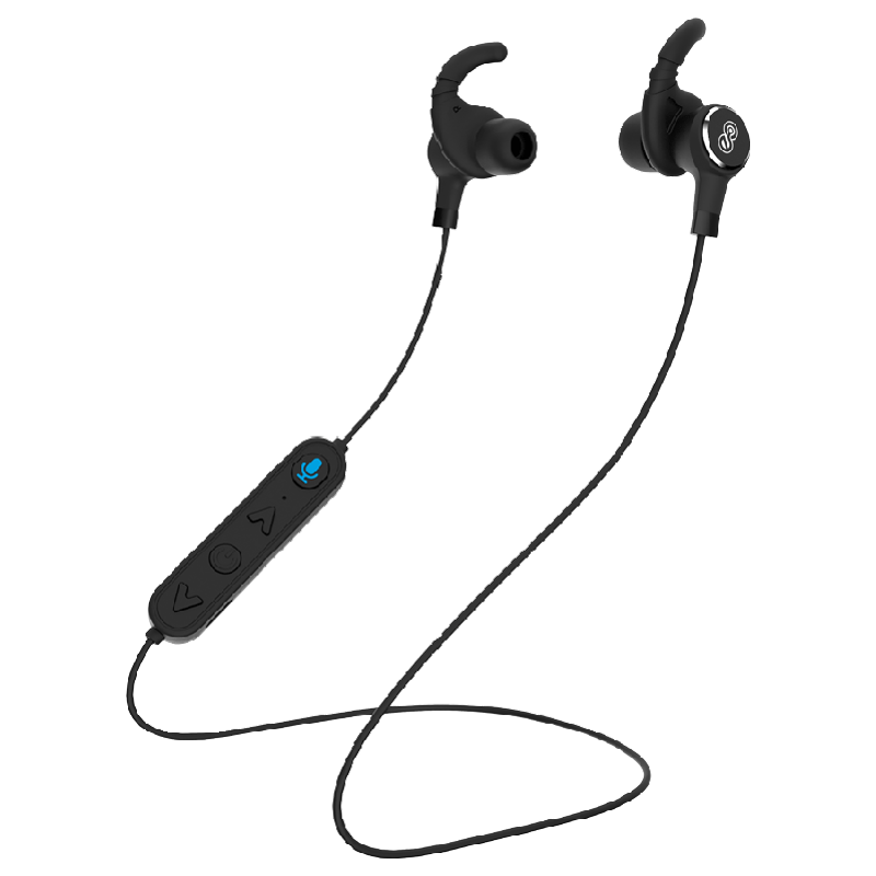 Eleon Puriya Bluetooth Earphones with Built-in Alexa (ELEA7305, Black)_1