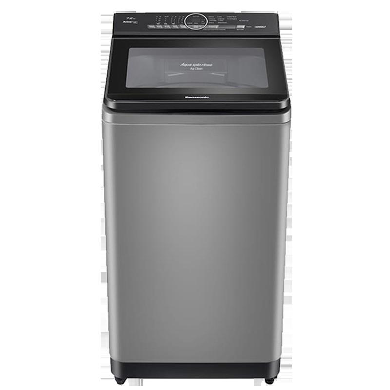 Panasonic 7.2 kg Fully Automatic Top Load Washing Machine (NA-F72B8CRB, Grey)_1