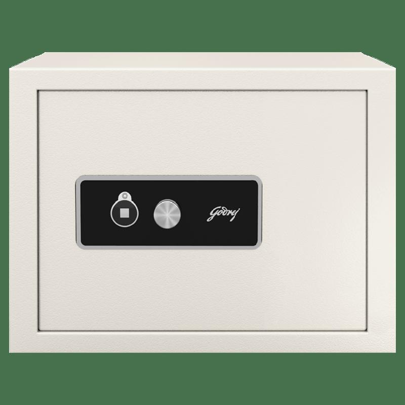 Godrej 20 Litre Safe Locker (Curvo KL, Ivory)_1