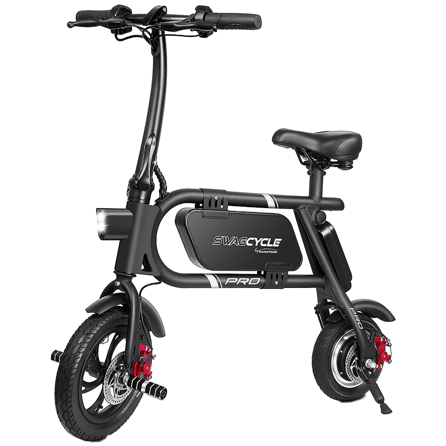 Swagtron Electric Scooter (Swagcycle Pro, Black)_1