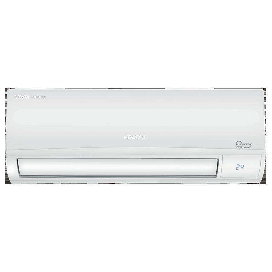 Voltas 1 Ton 5 Star Inverter Split AC (Air Purification Function, Copper Condenser, 125V DZX, White)_1