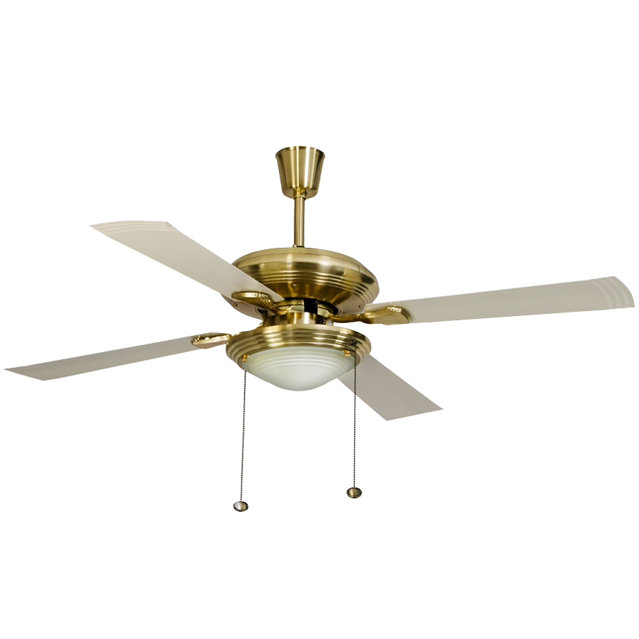 Usha Fontana One Ceiling Fan (8901420904423, Gold Ivory)_1