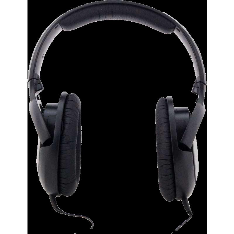 Sennheiser HD 180 Wrap Around Headphones (Grey/Black)_1