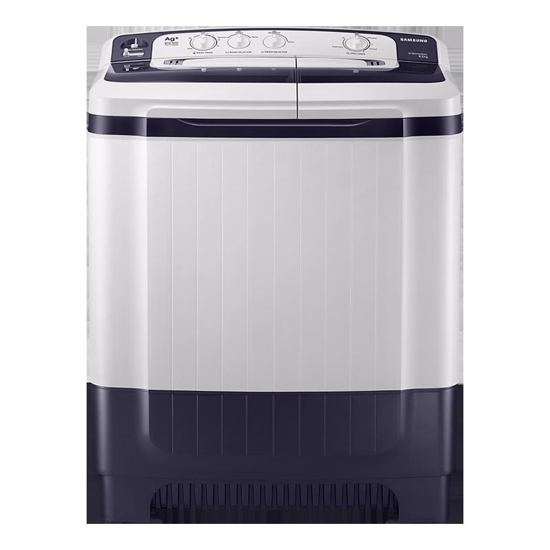 Samsung 8.5 kg Semi Automatic Top Load Washing Machine (WT85M4200HL/TL, Light Grey)_1