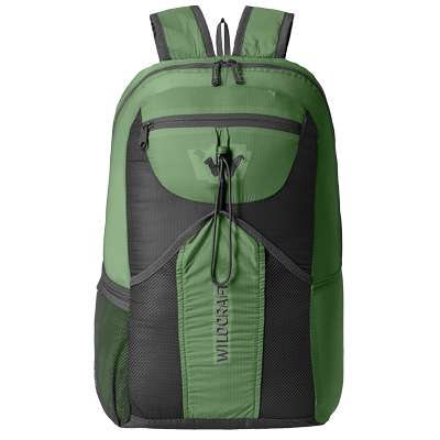 Wildcraft 24 Litres Casual Backpack (Pac n Go Summitpac, Green)_1