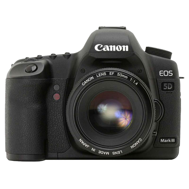 Canon 21.1 MP DSLR Camera Body with 24 - 105 mm Lens (EOS 5D Mark II, Black)_1