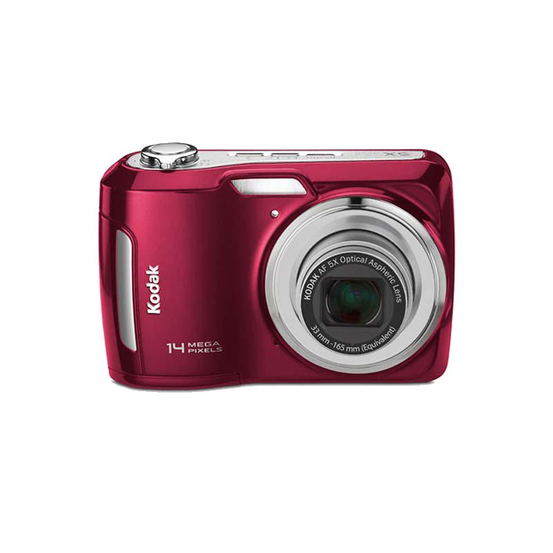 Kodak 14 MP Point & Shoot Camera (C195, Red)_1