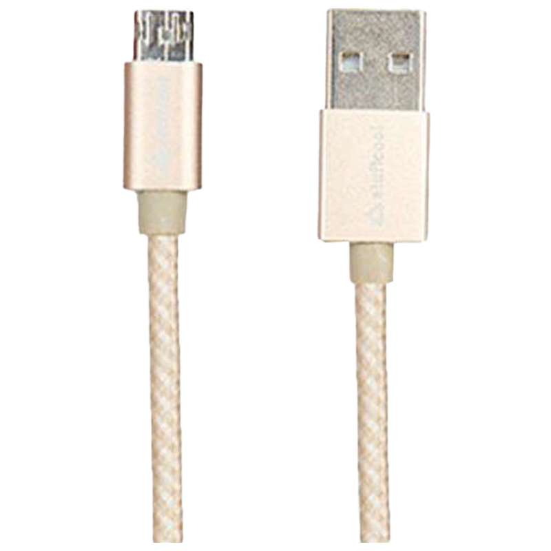 Stuffcool Reversible Sync & Charge 100 cm USB (Type-A) to Micro USB Cable (MIREV, White)_1