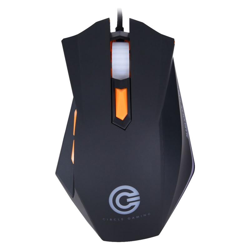 Circle Marksman 4 4000 DPI Ultra Speed Wired Gaming Mouse (Black)_1