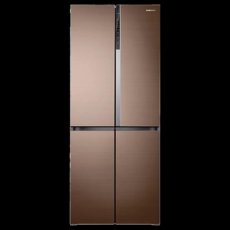 Samsung 594 Litres Frost Free Inverter Side-by-Side Door Refrigerator (Triple Cooling, RF50K5910DP/TL, Refined Bronze)_1