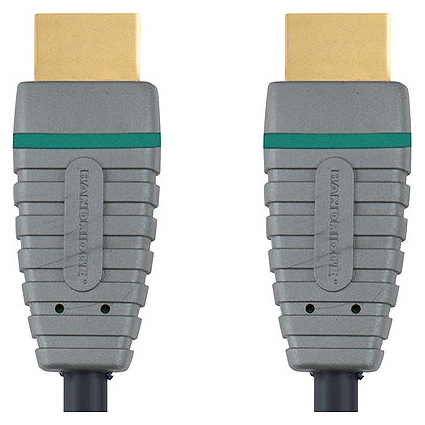 Bandridge 200 cm HDMI (Type-A) Cable with Ethernet (BVL1202, Black)_1