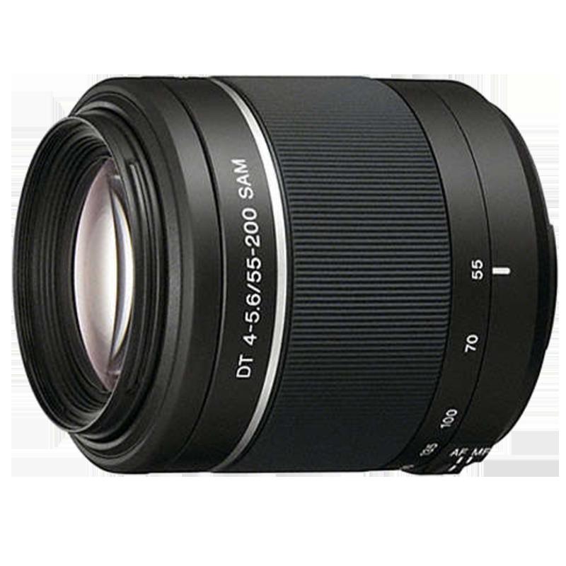 Sony DT 55-200 mm F32-F45 Lens (SAL55200-2, Black)_1