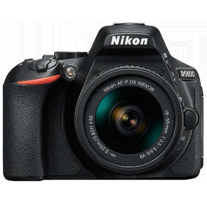 Nikon 24.2 MP DSLR Camera Body with 18 - 55 mm Lens (D5600, Black)_1