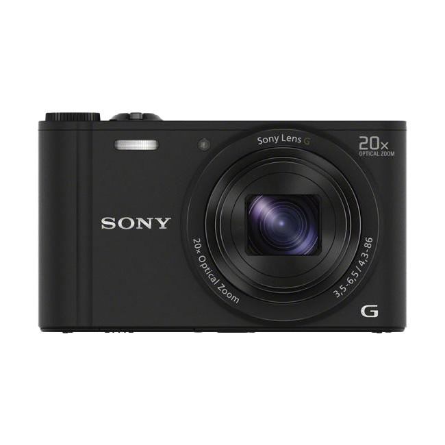 Sony Cyber Shot 18.2 MP Point & Shoot Camera (DSC-WX350 W, Black)_1