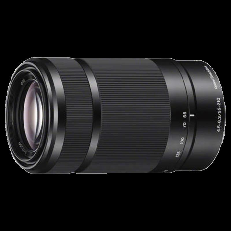 Sony 55-210 mm F4.5-F6.3/F22-F32 Lens (SEL55210, Black)_1